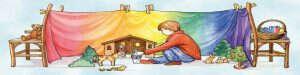 logo van speelgoed voor goed kinderspel