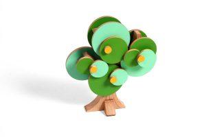 Wodibowboom met voorjaarstooi